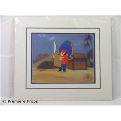 Yosemite Sam Daffy Duck Fantastic Island Production Cel