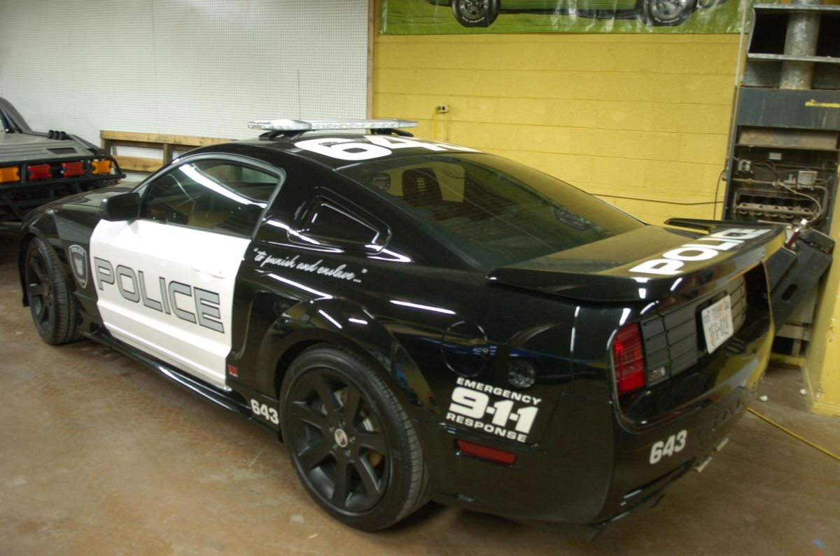 image 6 2005 saleen mustang barricade from transformers