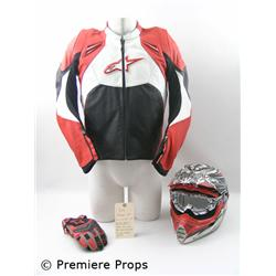 Sex Drive Rex (James Marsden) Motorcycle Movie Costumes