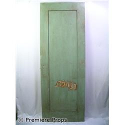 Knowing 1959 School Grey Wooden Door With Numbers Movie Props