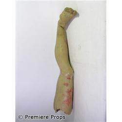 Outlander Bloody Left Leg Movie Props