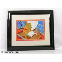 Original Framed Winnie the Pooh and Kangaroo Production Cel