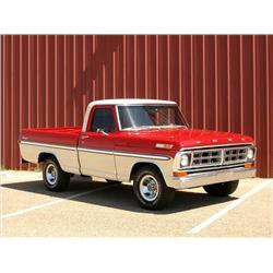 1971 Ford F-100 with Ostrich interior!!!!