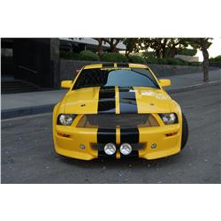 2008 Ford Mustang Custom GT 550R Designed by Tjaarda