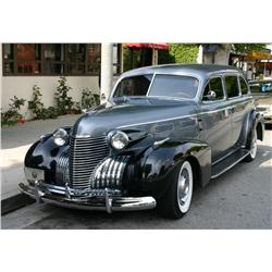1940 Cadillac 72 7233 series CAD 7 Tour Imperial Sedan Limo Custom