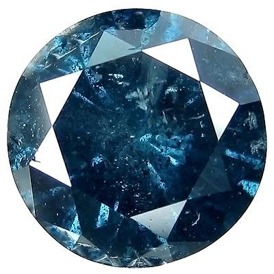 dark retail dazzling round diamond gem cut blue