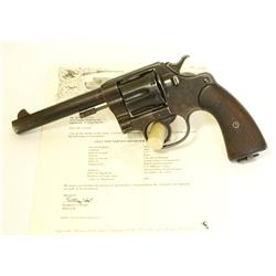 Colt USMC marked New Service 1909 .45 cal SN 26157