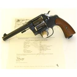 Colt USMC marked New Service 1909 .45 cal SN 24072
