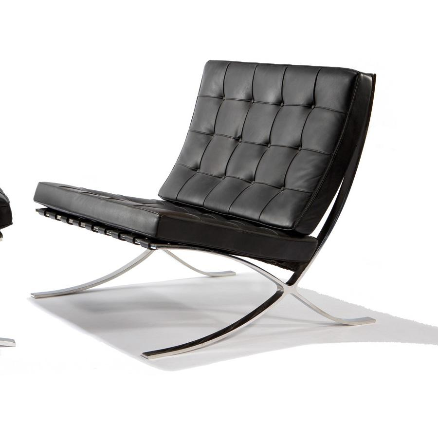 ludwig mies van der rohe knoll barcelona chair. Black Bedroom Furniture Sets. Home Design Ideas