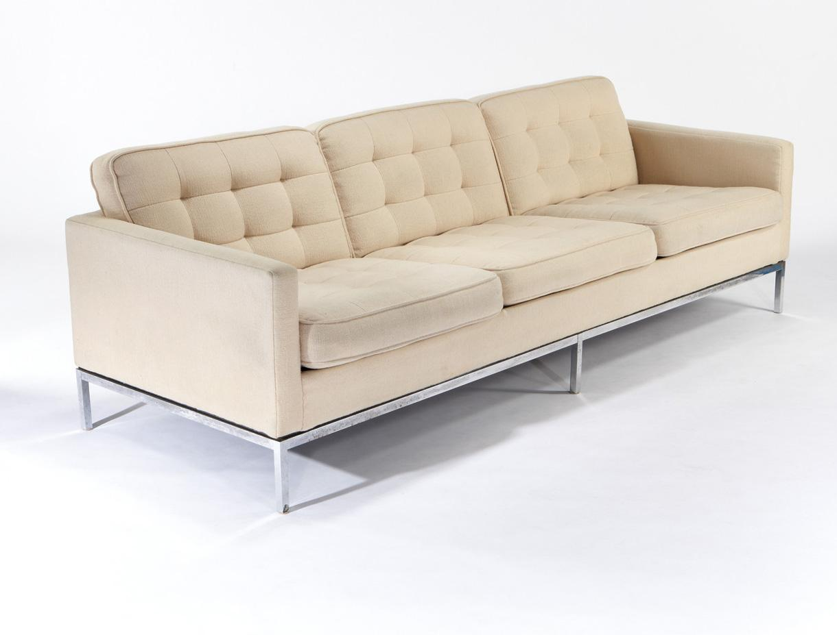 florence knoll knoll sofa. Black Bedroom Furniture Sets. Home Design Ideas