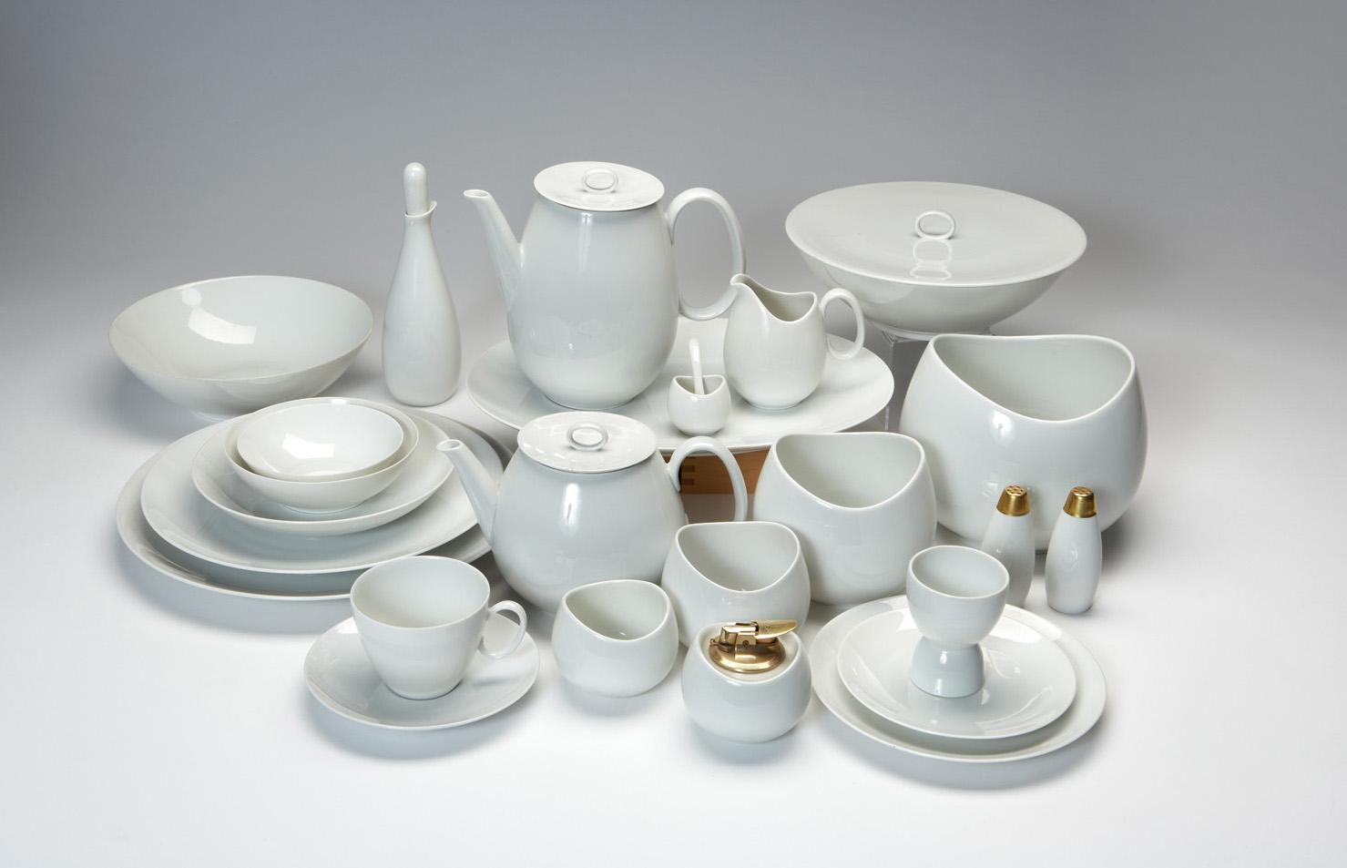 Raymond loewy rosenthal continental china set for Rosenthal home designs