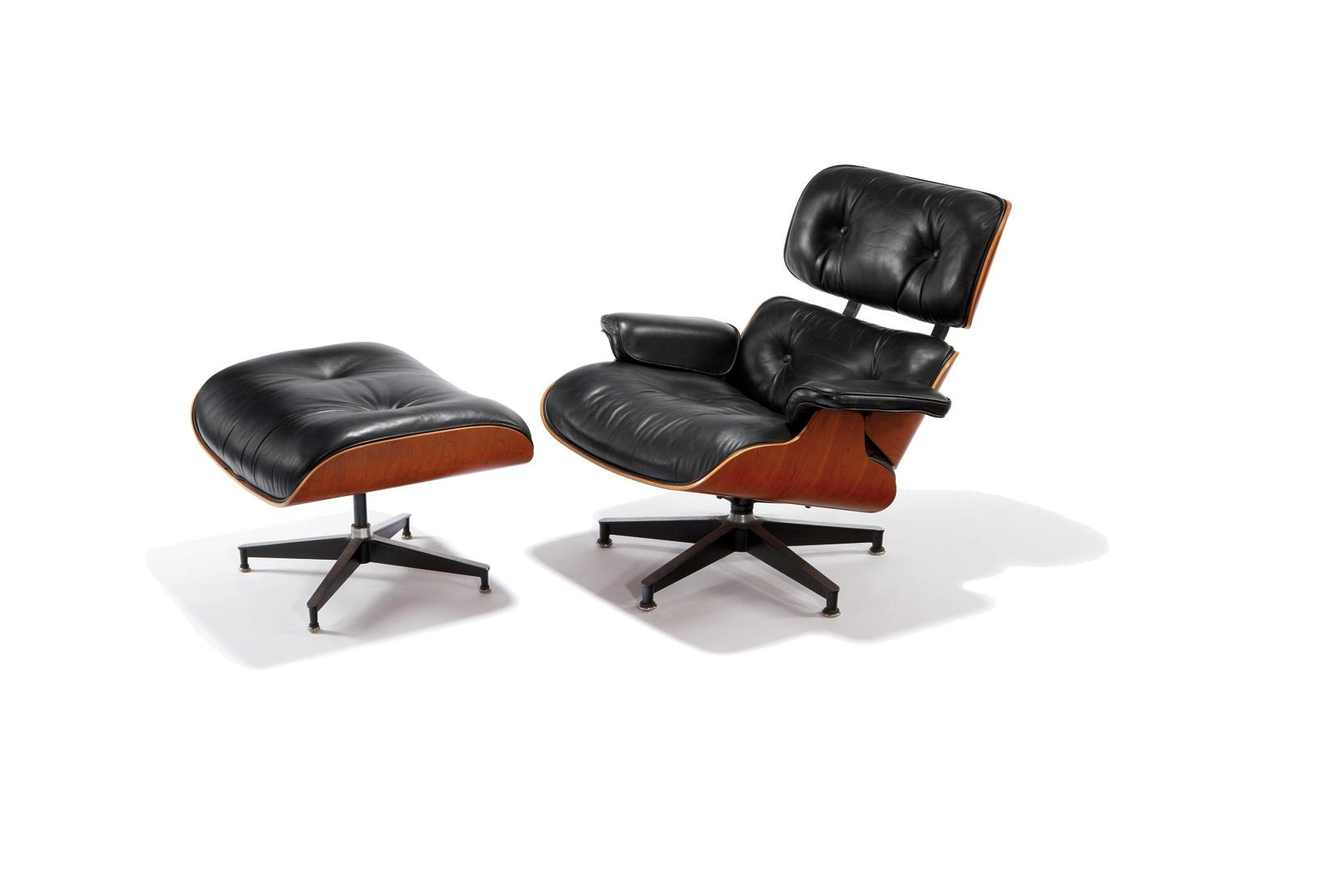 Image 1 : Charles U0026 Ray Eames   Herman Miller   Lounge Chair And Ottoman