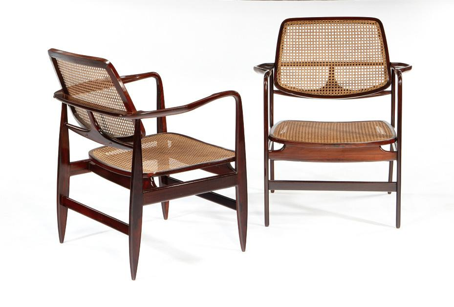 Charmant Sergio Rodrigues     Pair Of Oscar Chairs. Loading Zoom