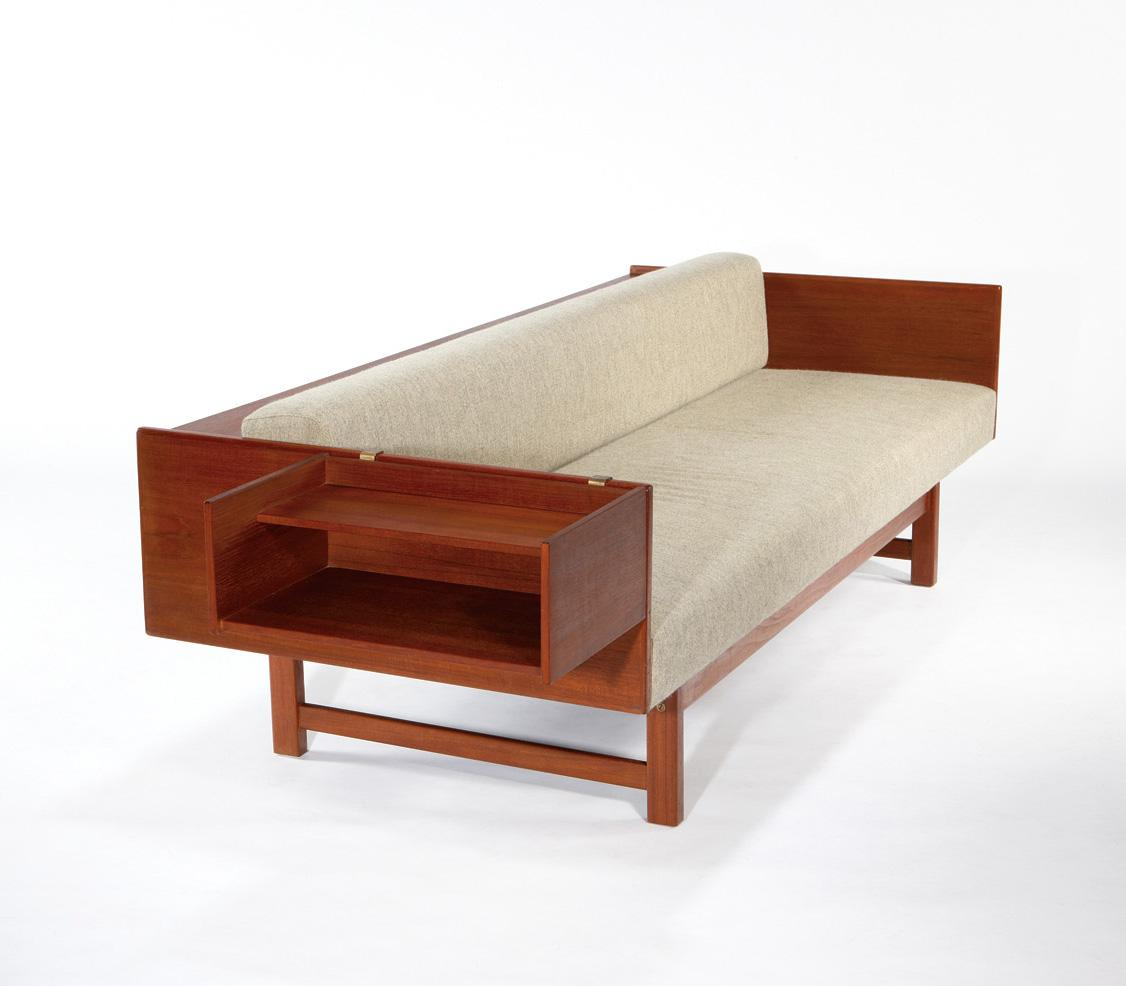 Image 1 Yngve Ekstrom Convertible Sofa Daybed With Cantilevered Side Table