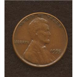1955 /55 United States of America One Cent