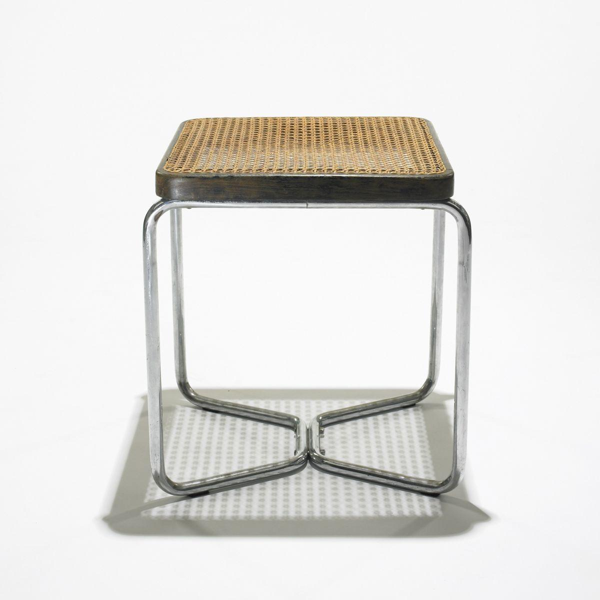 In The Manner Of Marcel Breuer Stool