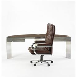 Leon Rosen for Pace Manufacturing desk and chair
