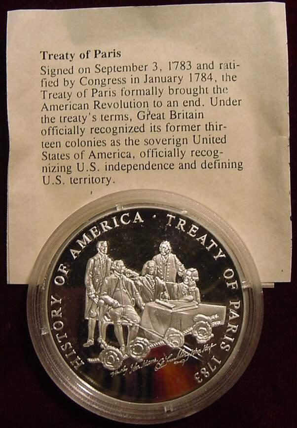a history of the paris treaty of 1783 Treaty of paris 1783 alyson jones  treaty of paris of 1783  know about our history the cool thing about.