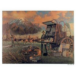 Cecil Smith, Two American West Lithographs