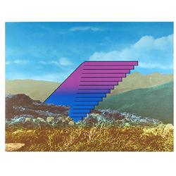 Charles Magistro, New Frontier, Serigraph