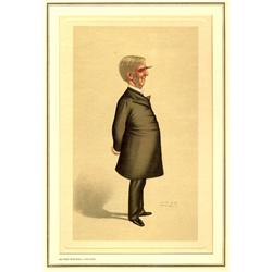 Spy, Oliver Wendell Holmes, Lithograph