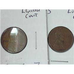1918 And 1918-S Lincoln Cents