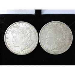 1921-D And 1921-S Morgan Silver Dollars