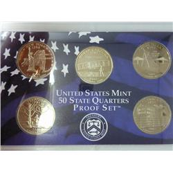 2001 US 50 State Quarters Proof Set