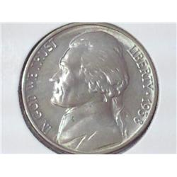 1938 Jefferson Nickel (BU)