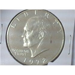1972-S Ike Dollar Proof (Silver Clad)