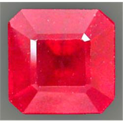 .9ct.Top Red Natural Madascar Ruby Octagon 5mm (GMR-0292)
