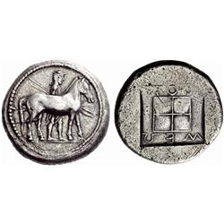 Greek coins, Kings of the Bisaltae, Mosses, Octodrachm