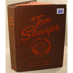1944  TOM SAWYER  HARDCOVER BOOK BY MARK TWAIN