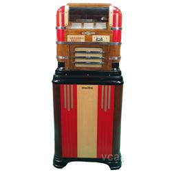wurlitzer table model 61 jukebox w reproduction wurlit. Black Bedroom Furniture Sets. Home Design Ideas