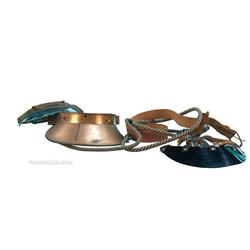 Three Dealers' Visors - Two classic dealers' visors and