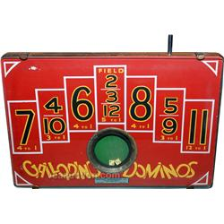 Galloping Dominos - Self contained dice game under glas