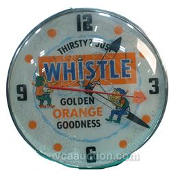 Whistle - Golden Orange Goodness Drink Pam Style Clock