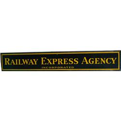 Railway Express Agency Inc. Porcelain Sign - 72  x 12