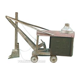 Early 1900's Marion Steam Shovel Model By Steelcraft