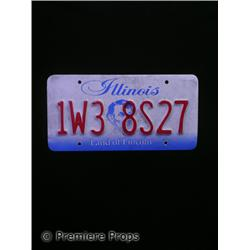 Halloween II Uncle Meat (Howard Hesseman) License Plate Movie Props