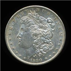 1890S Morgan Dollar Choice+ Uncirculated RARE Variety SCARCE date (COI-4094)
