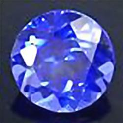 2.5mm VERY RARE Blazing Blue Purple Tanzanite FLAWLESS RETAIL $250 (GEM-4525R)