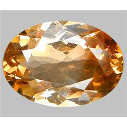 7.97ct Oval Cut Top AAA Imperial Topaz  VVS (GEM-8824)
