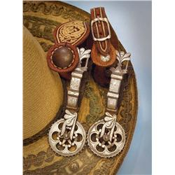19th Century Mexican Spurs