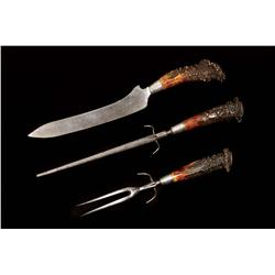Will & Finck Stag Antler Carving Set