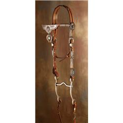 Two Navajo Bridles