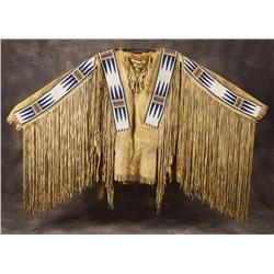 Blackfeet Man's Beaded Shirt