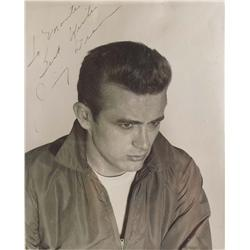 Two James Dean Photos - One Signed