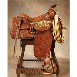 Gene Autry Rodeo Saddle