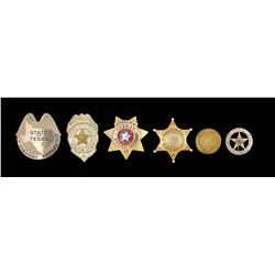 Monte Hale Badge Collection Lot #2